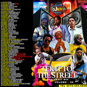 Dj Roy Tek It To The Street Dancehall Mix Vol.20 | Crafting | Cross-Stitch | Other