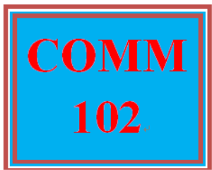 COMM 102 Week 1 Communication Basics | eBooks | Education