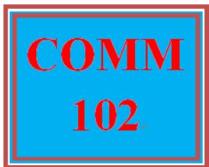 COMM 102 Week 5 Presentation Skills | eBooks | Education