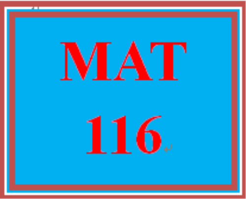 First Additional product image for - MAT 116 Week 9 Final Exam