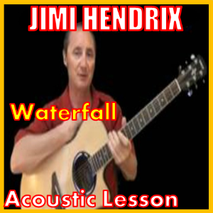 learn to play waterfall by jimi hendrix