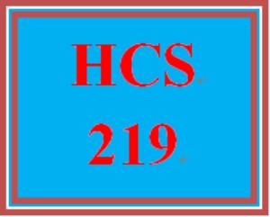 hcs 219 week 4 insurance training