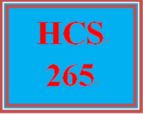 First Additional product image for - HCS 265 Week 1 Managers and Leaders Reflection