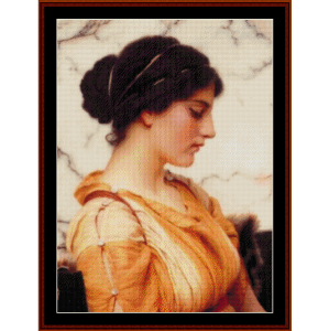 Sabinella - Godward cross stitch pattern by Cross Stitch Collectibles | Crafting | Cross-Stitch | Wall Hangings