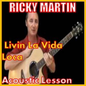 learn to play livin la vida loca by ricky martin