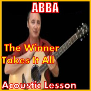 learn to play the winner takes it all by abba