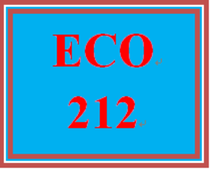 eco 212 week 3 economic analyst report