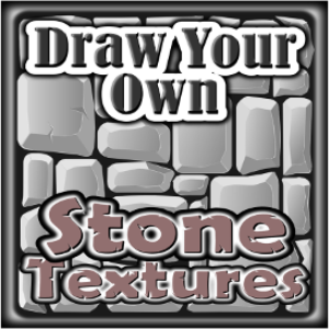 Draw Your Own: STONE TEXTURES | eBooks | Non-Fiction