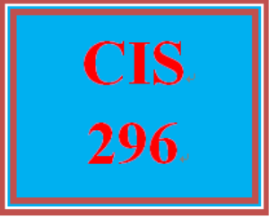 CIS 296 Week 1 Individual: Information Security Case Study | eBooks | Education