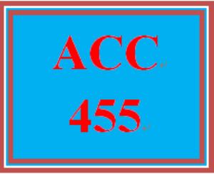 ACC 455 Week 1 MyAccountingLab Week 1 | eBooks | Education