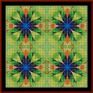 Fractal 583 cross stitch pattern by Cross Stitch Collectibles | Crafting | Cross-Stitch | Wall Hangings