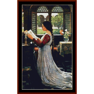 The MIssal, 1902 - Waterhouse cross stitch pattern by Cross Stitch Collectibles | Crafting | Cross-Stitch | Wall Hangings