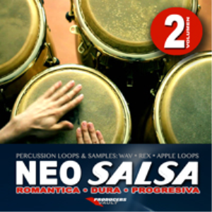 neo salsa vol.2 (salsa progresiva dura romantica) loops & samples