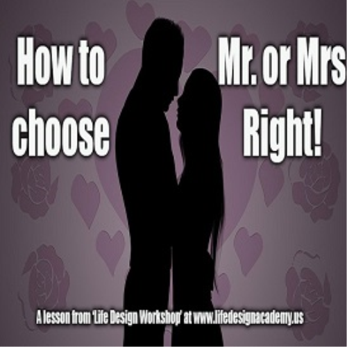 First Additional product image for - How to Choose Mr. or Mrs Right