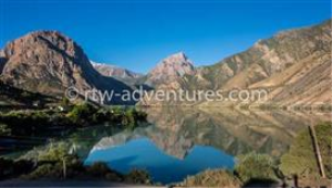 stock photo from iskander kull lake, tajikistan
