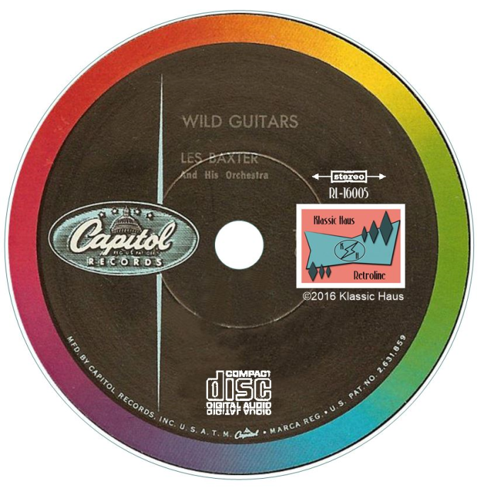 Second Additional product image for - Les Baxter's Wild Guitars