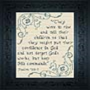 Keep His Commands | Crafting | Cross-Stitch | Other
