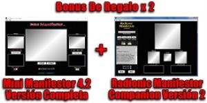 Radionic Manifestor Pro 3 Spanish + Mini Manifestor 4 | Software | Utilities