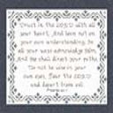In All Your Ways | Crafting | Cross-Stitch | Religious