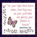 Light Shine | Crafting | Cross-Stitch | Religious