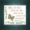 May The Lord Watch | Crafting | Cross-Stitch | Religious