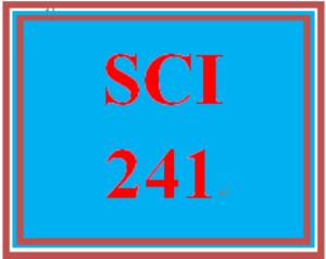 SCI 241 Week 7 WileyPLUS® Week 6 & 7 Quiz | eBooks | Education
