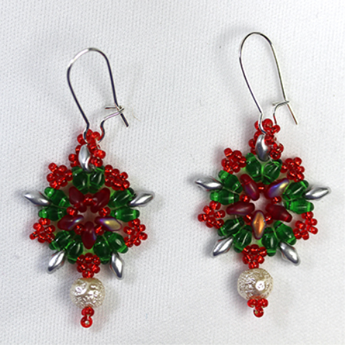First Additional product image for - Soutache Earrings Pattern