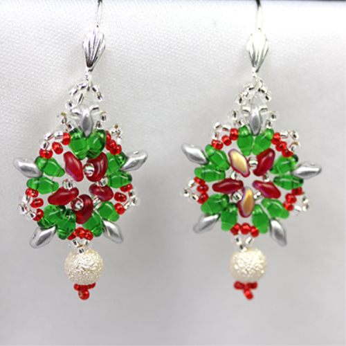 Second Additional product image for - Soutache Earrings Pattern