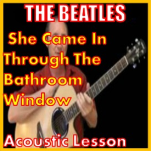 Learn to play She Came In Through The Bathroom Window | Movies and Videos | Educational
