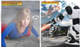 Super Emma #1: The Flying Dodge | Photos and Images | Digital Art