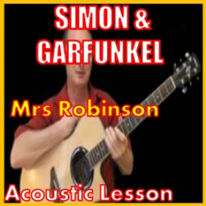 learn to play mrs robinson by simon and garfunkel