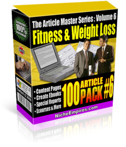 fitness and weightloss 100 articles master series