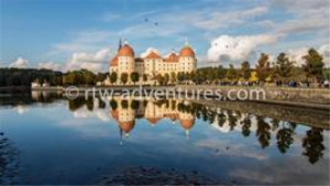 stock photo moritzburg castle, germany