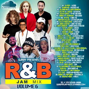 dj roy r&b jam mixtape vol.6 2016