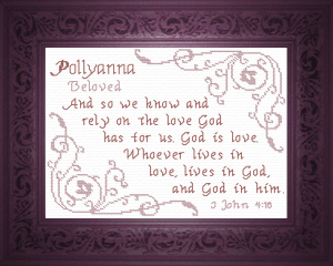 Name Blessings - Pollyanna | Crafting | Cross-Stitch | Religious