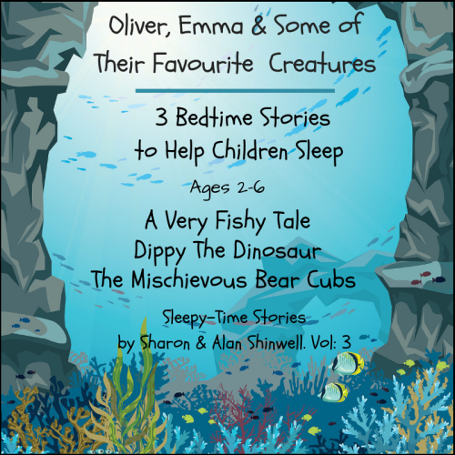 First Additional product image for - Oliver, Emma & some of their favourite creatures. 3 Bedtime Stories for Kids. Vol:3