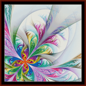 Fractal 585 cross stitch pattern by Cross Stitch Collectibles | Crafting | Cross-Stitch | Other