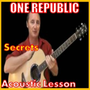 Learn to play Secrets by One Republic | Movies and Videos | Educational