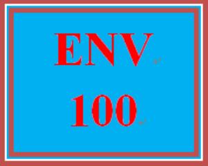 ENV 100 Entire Course | eBooks | Education