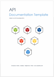 REST/Web API Documentation Template (MS Word) | Software | Software Templates