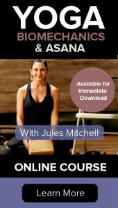 yoga biomechanics and asana