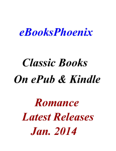 ebooksphoenix classic books romance jan. 2014
