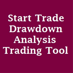 start trade drawdown analysis and vba excel trading tool