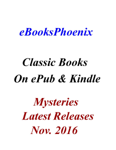 ebooksphoenix classic books mystery nov. 2016