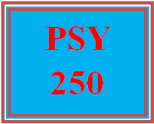 psy 250 week 3 individual personality traits