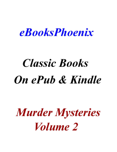 eBooksPhoenix Classic Books Murder Mystery Vol. 2 | eBooks | Mystery and Suspense