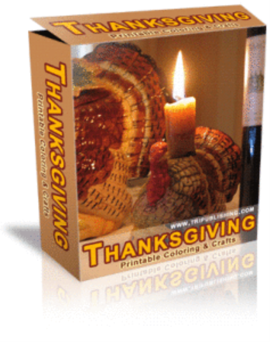 First Additional product image for - Thanksgiving party articles and coloring pages resell rights