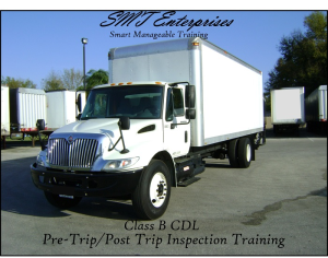 pdf cdl class b  pre-trip inspection manual