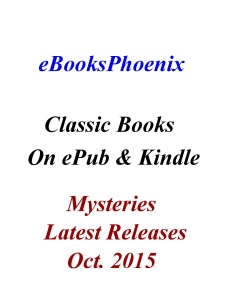 ebooksphoenix classic books mystery oct. 2015