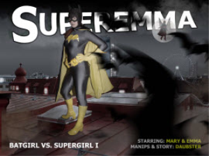 Bat Vs Super Emma Part 1 | Photos and Images | Digital Art